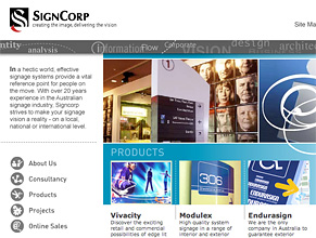Signcorp Website